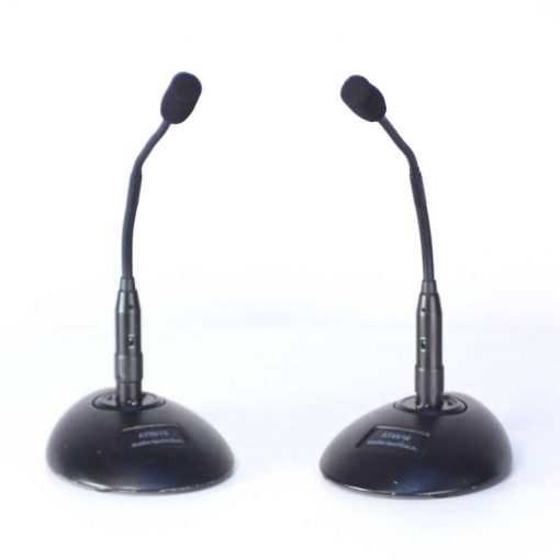 Lectern microphones and base