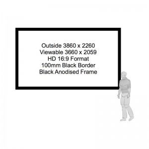 HD Format Projector Screen Hire
