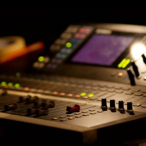 Digital Sound Mixing Desk