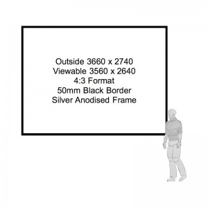 Fastfold Projection Screen Hire