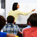classroom Interactive whiteboard