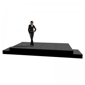 4m x 2m staging hire