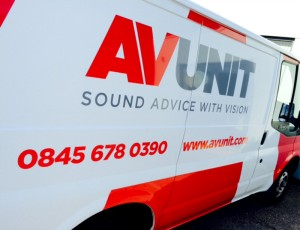 Audio Visual Van