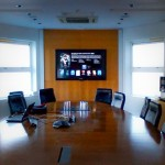 boardroom touch screen installation