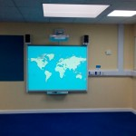 New classroom Interactive whiteboard