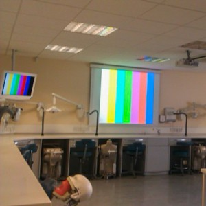 Medical Teaching Room AV Installer