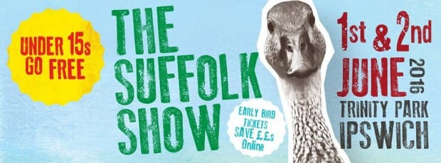 Suffolk Show – 2 days hire for the price of 1