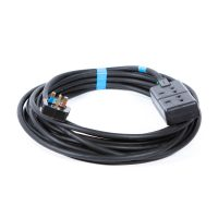 13A 2 Way Mains Extension Cable 10m