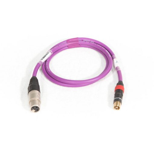 Audio Adapter Pink Phono - Female XLR