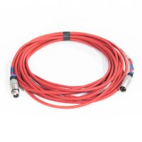 DMX 3 Pin Cable (Grey Ident) - 10m