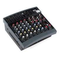 Soundcraft PowerPad Powered Mixer - 4xMono + 2xSt