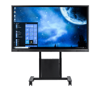 Avocor E-series touch screen with mobile stand
