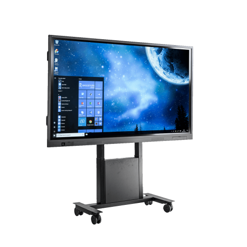Avocor E-series Interactive Touch Screen with mobile stand