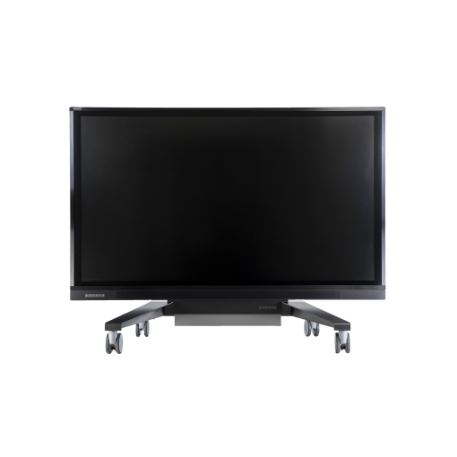 Avocor F50-Series Interactive Touch Screen on lowered mobile stand
