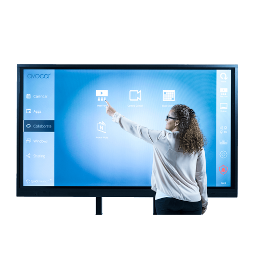 Avocor Collaborative Interactive Touch Screen