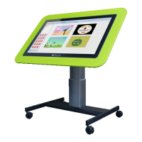 Genee touch table height adjustable