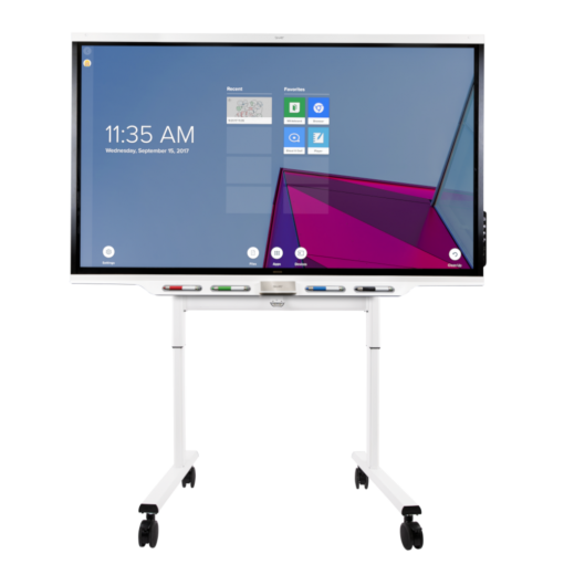SMART Board 7000 series Interactive Touch screen on Trolley
