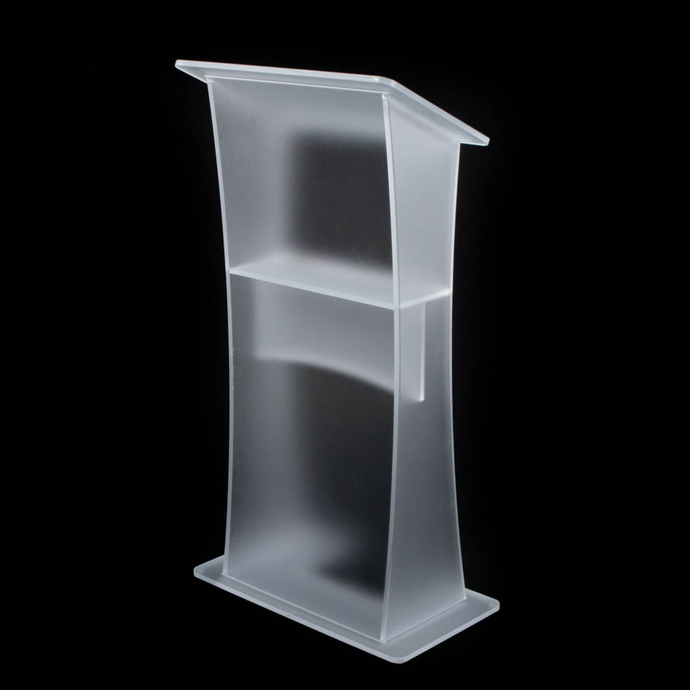 """Lectern - """"Opal"""" frosted Acrylic"""