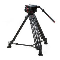 Manfrotto 509HD/545BK 100mm Tripod System