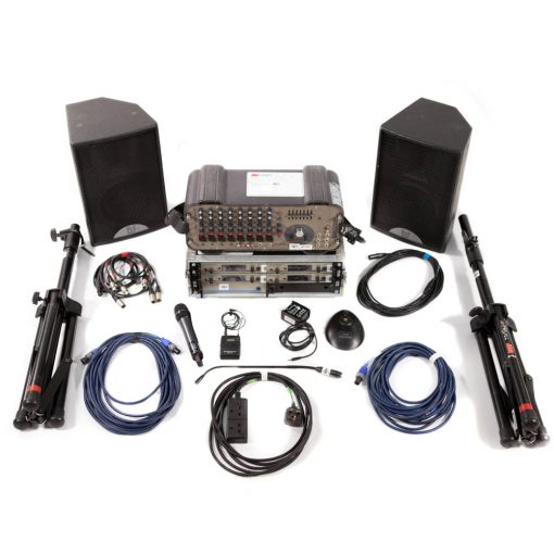 Small Conference PA Package with 2 radio microphones