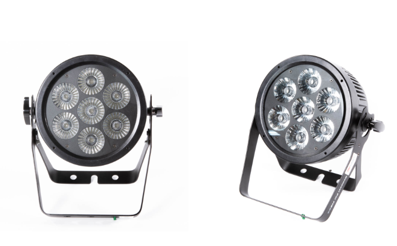 How to use the Showtec compact LED 715 Q4 par light